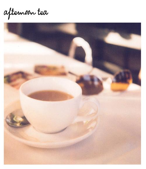 Aftenoon-tea