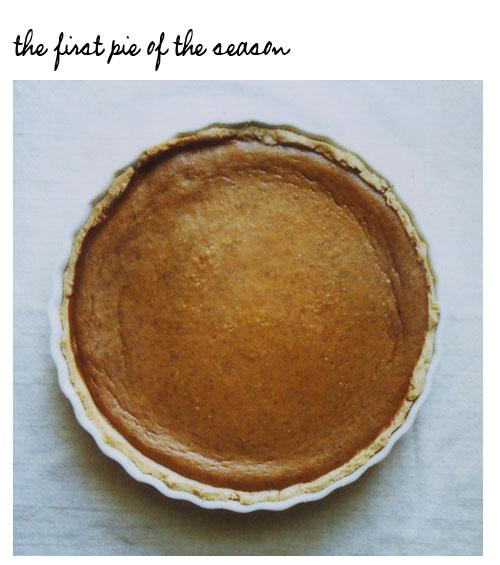 Pie post